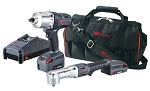 Ingersoll Rand IQV20-2052, 2 Piece IQV20 - 1/2in Impact Wrench and 3/8in Angle Impact Wrench Kit