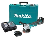 Makita XAG03M, 18V LXT Lithium-Ion Brushless 4-1/2in Cut-Off/Angle Grinder Kit