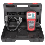 Autel MD802, MaxiDiag Elite OBDII Scan Tool with ALL Systems DTC Read and Clear
