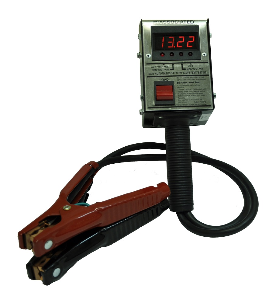 Associated Battery Tester : Associated equipment digital battery load tester