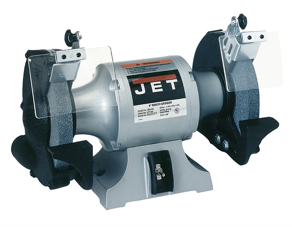 Jet Tools Jbg 8a 8in Industrial Bench Grinder Stock
