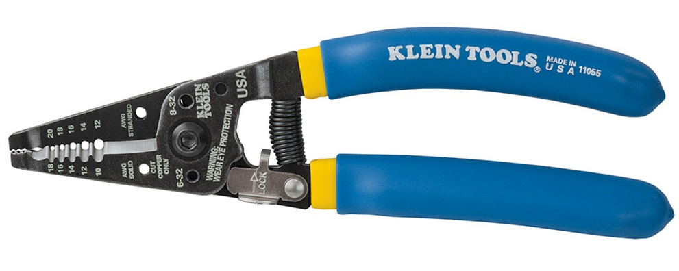 Klein Tools 11055, Klein-Kurve Wire Stripper - Cutter for Solid and ...