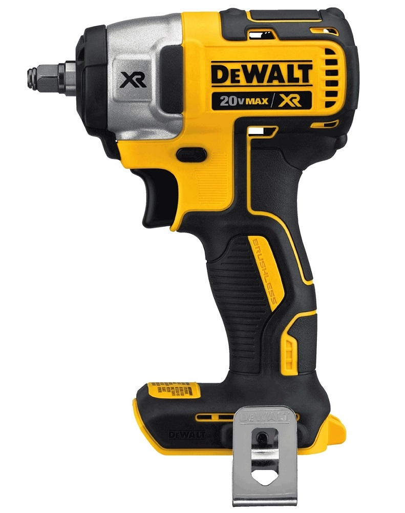 Dewalt dcf890b 20v max brushless 3 8in drive cordless for Dewalt 20v brushless motor