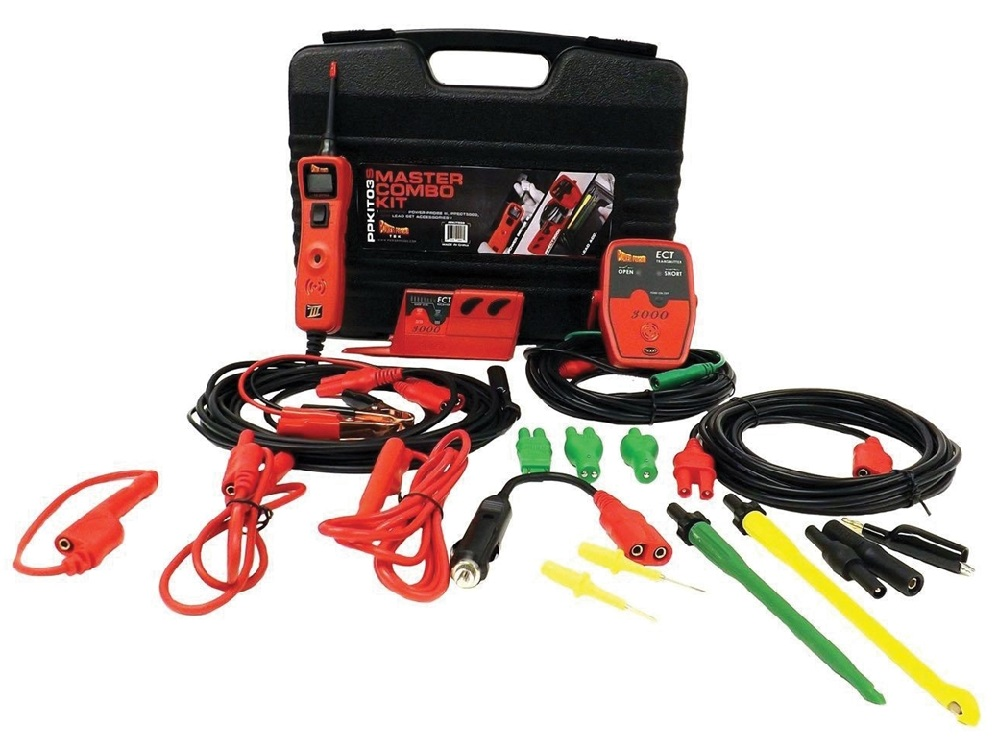 Power Probe KIT03S, Power Probe 3 Master kit with ECT3000