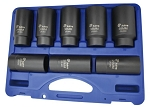 Astro Pneumatic 78866, 8 Piece Axle Nut 6 Point Socket Set