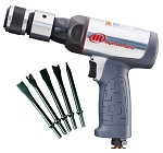 Ingersoll Rand 123MAXK, Ingersoll Rand Short Barrel Air Hammer Kit with Low Vibration
