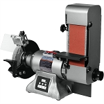 JET Tools IBGB-436VS, 8in Variable Speed Industrial Grinder and 4 x 36 Belt Sander Stock Number 577436