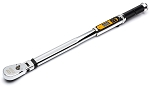 GearWrench 85196, 1/2in 120XP Flex Head Electronic Torque Wrench with Angle 25 - 250 Ft/lb