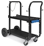 Miller Electric Mfg 301239, Heavy-Duty Welder Cart and Cylinder Rack