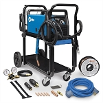 Miller Electric Mfg 951715, Millermatic 211 MIG Welder with Cart and Cover
