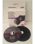 3M 33467, Cubitron II Cut-Off Wheels 4.5 x 0.04 x 7/8 inches 5 Wheels per Pack 6 Packs per Case