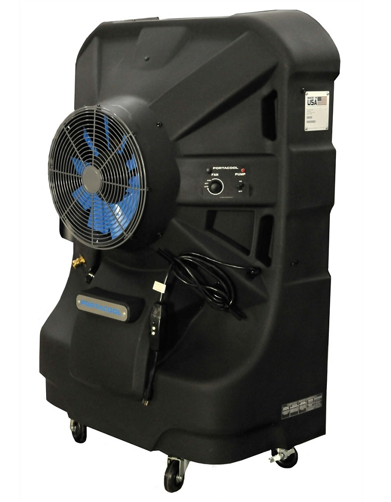 Portable Evaporative Cooling Unit : Port a cool pacjs in jetstream portable