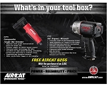 AIRCAT 1150-6255, 1/2in Drive Extreme Power Air Impact Wrench with Free 6255 Air Die Grinder