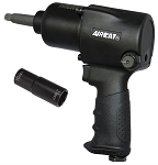 AIRCAT 1431-2, 1/2in Drive Air Impact Wrench with 2in Extended Anvil