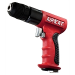 AIRCAT 4338, 3/8in Drive Reversible Red Composite Air Drill