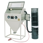ALC Keysco 40403, 36in x 24in Top and Side Door Foot Pedal Sandblasting Cabinet