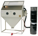ALC Keysco 40410, 48in x 24in Top and Side Door Trigger Gun Sandblasting Cabinet