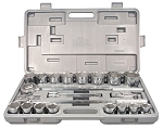 Astro Pneumatic 2134, 21 Piece 3/4in Square Drive Socket Set
