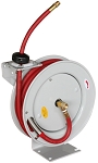 Astro Pneumatic 3682, 3/8in x 50ft Automatic Rewind Hose Reel with Hose