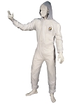 Astro Pneumatic 4561, Large Reusable Coverall with Velcro Wrists and Ankles