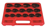 Astro Pneumatic 7115, 15 Piece 3/8in Drive Metric Crowfoot Wrench Set