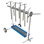 Astro Pneumatic 7300, Universal Rotating Super Work Stand for Paint and Body