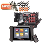Autel MS906TS-BUNDLE, MaxiSYS 906TS Diagnostic System and Comprehensive TPMS Service Device with Wireless Bluetooth OBDII Connector
