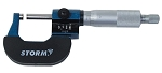 Central Tools 3M201, 0-1in Mechanical Digital Style Micrometer