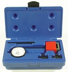Central Tools 6410, 1in 0-100mm Range Dial Indicator Set