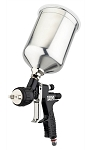 DeVilbiss 703566, TEKNA ProLite Spray Gun with Aluminum Cup and 1.2mm, 1.3mm and 1.4mm Nozzles and TE10, TE20 Air Caps