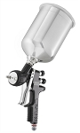 DeVilbiss 703580, TEKNA Pro Spray Gun with Aluminum Cup and 1.2mm, 1.3mm and 1.4mm Nozzles and TE10, TE20 Air Caps
