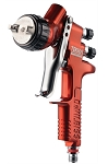 DeVilbiss 703661, Tekna Copper Gravity Feed Spray Gun with 1.3 and 1.4 Needle