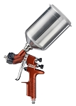 DeVilbiss 703662, Tekna Copper Gravity Feed Spray Gun with 1.3 and 1.4 Needle