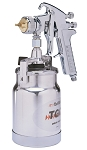 DeVilbiss 110102, JGA-636 Suction Spray Gun 1.8mm Fluid Tip with Cap and Cup