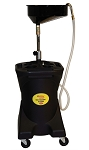 John Dow Industries JDI-27DC, 27-Gallon Deluxe Self-Evacuating Poly Oil Drain