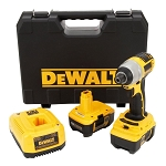 Dewalt DC827KL, Heavy-Duty 1/4in Drive 18 Volt Impact Driver Kit with NANO Technology