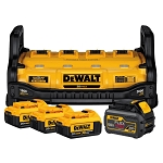 Dewalt DCB1800M3T1, 1800 Watt Portable Power Station and Parallel Battery Charger Kit (with Three 4Ah Batteries and One 6Ah Battery)