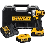 Dewalt DCF880HM2, 20V Max Lithium-Ion 1/2in Cordless Impact Wrench Kit