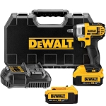 Dewalt DCF883M2, 20V Max Lithium-Ion 3/8in Cordless Impact Wrench Kit