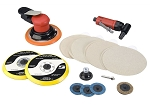 Dynabrade Products 21080, Bodymans Random Orbital Sander and Angle Die Grinder Kit