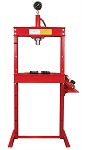 Dynamo Equipment HT0803, 12 Ton Hydraulic Shop Press with Gauge