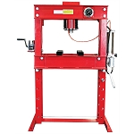 Dynamo Equipment HT0807, 45 Ton Air / Hydraulic Shop Press with Grid Guard