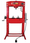 Dynamo Equipment HT0811, 50 Ton Air / Hydraulic Shop Press with Grid Guard