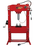 Dynamo Equipment HT0812, 75 Ton Air / Hydraulic Shop Press with Grid Guard