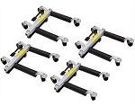 Dynamo Tools HTMD-4, 1500lb Capacity (Move-It) Dolly Set of 4