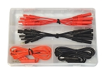 Electronic Specialties 1351, 16 Piece Spade Terminal Test Lead Set
