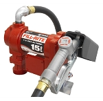 Tuthill Transfer FR610G, 115 Volt Heavy Duty Pump with Hose and Manual Nozzle