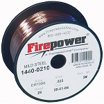Firepower 1440-0210, ER70S-6 Mild Steel Welding Wire .023in 2 Lbs