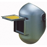 Firepower 1441-0004, Lift / Fixed Front Combo Welding Helmet 4-1/2in x 5-1/4in Black