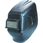 Firepower 1441-0025, Eclipse Lift Front Welding Helmet 2in x 4-1/4in Black